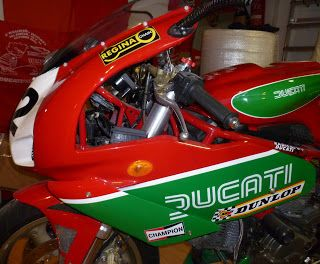 Radical Ducati S.L.: For Sale: Solo Seat, Fuel Tank, Front Fairing & Bellypan SSIE