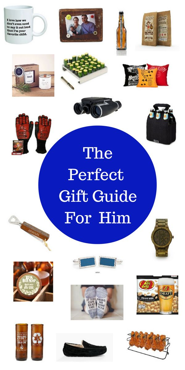 the perfect gift guide for him practical gifts