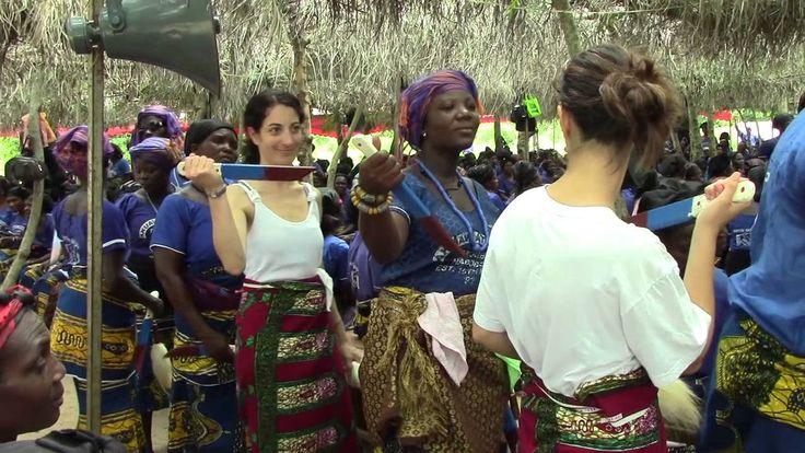 Ghana IMFH  2013 : Akuave ,  Dance Group