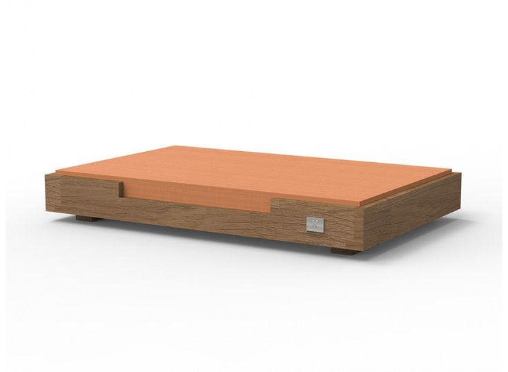 Christina Luxury Bed From Massive Oak For Your Dog