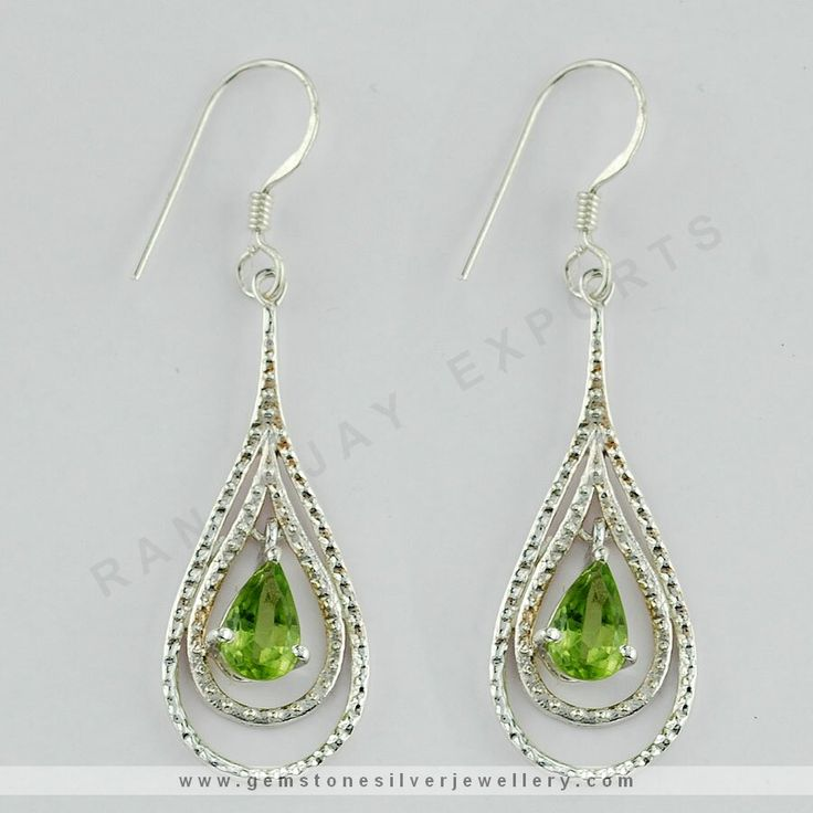 Tear Drop Danglers  Stone colors captivate your attention and instantly lends you a glamorous look for any or every occasion. Crafted from sterling silver and adorned with crystals sets your look aflutter. This is a must buy collection at such an affordable pricing with plenty of sparkle in your looks.  We have Ready Stock Silver Jewelry in Jaipur, And Supplies in Wholesale Price. Get A Sample Order only $99 From Jaipur, India. https://www.gemstonesilverjewellery.com/