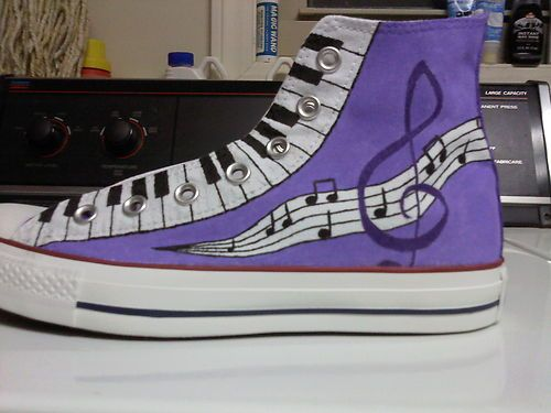 Hand-Painted Custom Converse All Stars (Chuck Taylors) | eBay