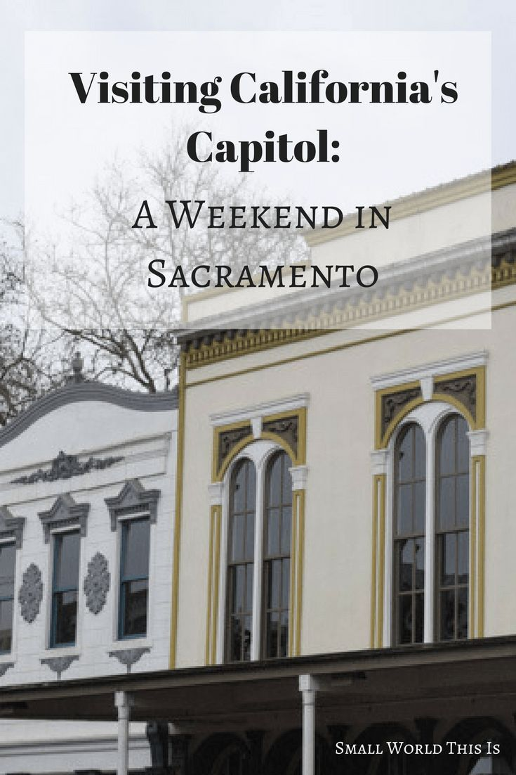 Sacramento is full of vibrant neighborhoods and interesting history. Here's where I went on a 48 hour trip to this city.