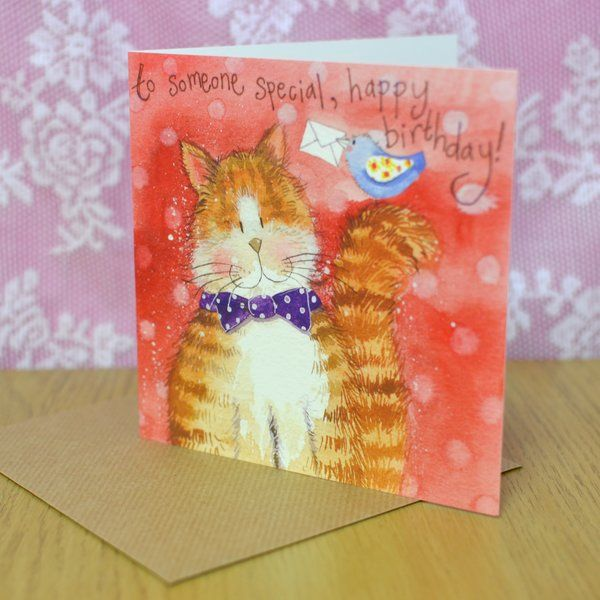 To Somone Special Birthday Card Blank