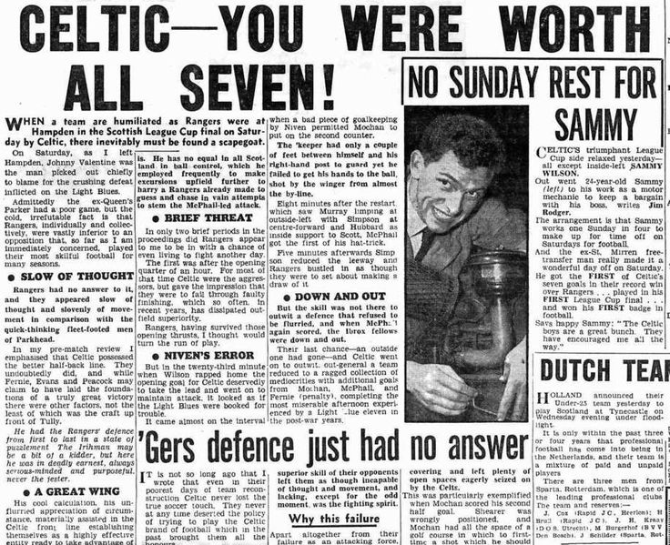 Daily Record 21 October 1957