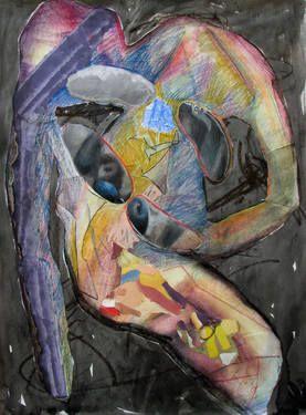 "Saatchi Art Artist Maia S Oprea; Painting, ""A GRAIN OF RICE"" #art @saatchiart"