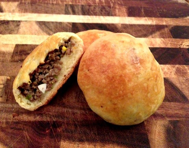 Pirozhki are small stuffed buns made of either dough or ...