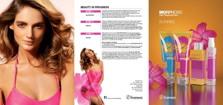 MORPHOSIS SUNRISE - English Folder - Morphosis Hair Treatment Line