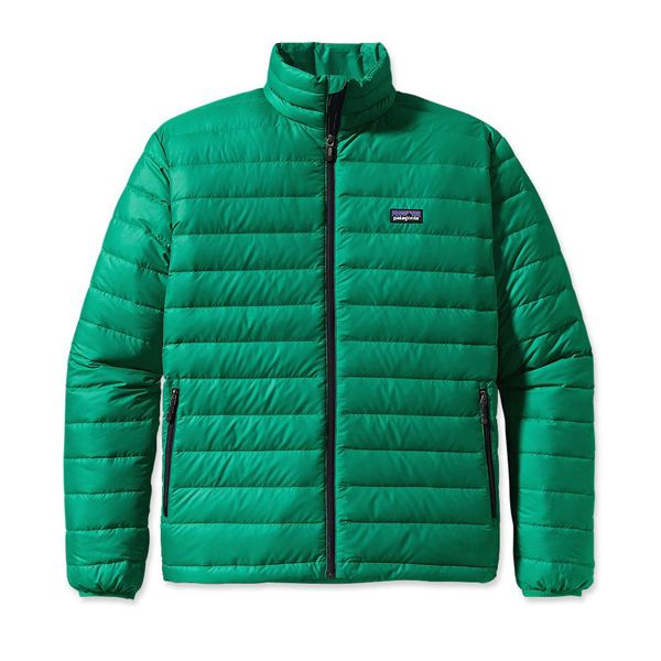 Patagonia Men's Down Sweater Green Super Sonic