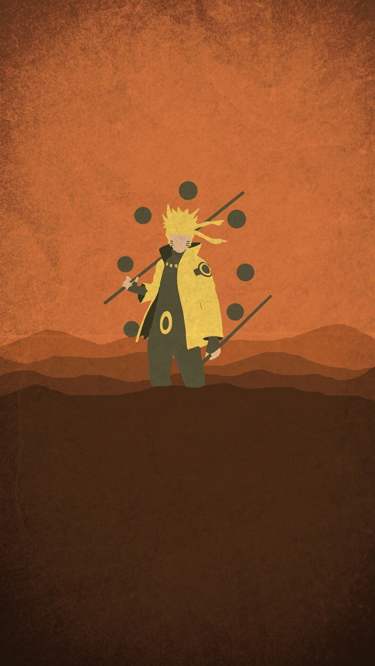 Naruto Minimalist Mobile Wallpaper | Wallpaper naruto ...