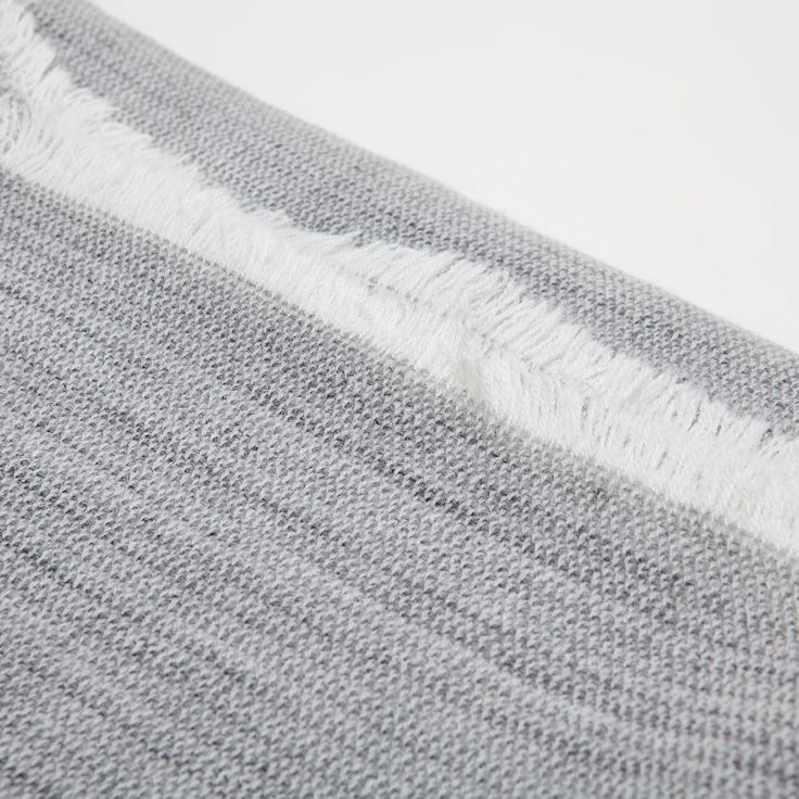 GREY FADED ACRYLIC BLANKET - Blankets - Decoration | Zara Home United Kingdom
