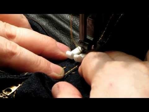 Как ликвидировать потертости на джинсах, между ног (Часть 1.) - YouTube
