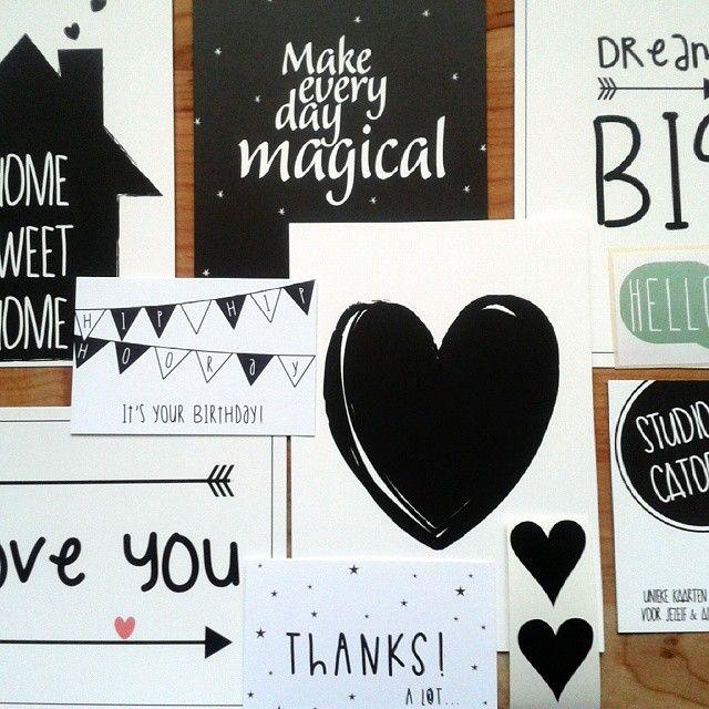 Super blij met m'n bestelling van Studio Catootje :-) @studiocatootje #fanvanstudiocatootje #studiocatootje #kaarten