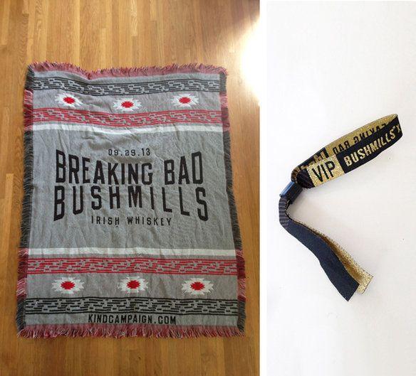 AMC Breaking Bad Finale VIP southwestern blanket in Atwater Village, Los Angeles, CA, USA ~ Krrb