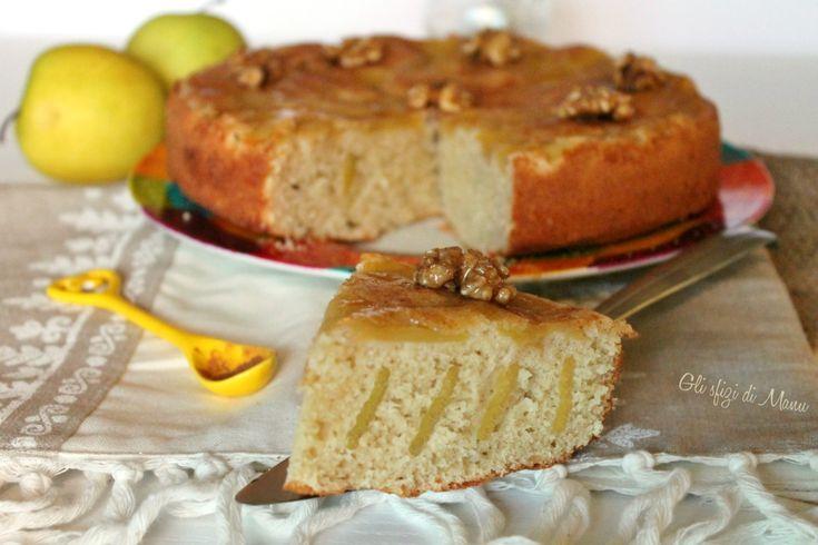Torta+alle+mele+rovesciata