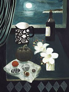 Mary Fedden - Two Lilies