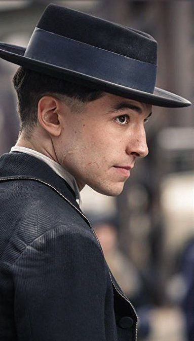 Credence Barebone from 'Fantastic Beasts and Where To Find Them' (2016). Costume Designer: Colleen Atwood