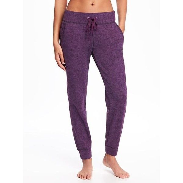 Old Navy Womens Go Dry Cool Drawstring Joggers ($27) ❤ liked on Polyvore featuring activewear, activewear pants, grape news, petite, petite activewear, logo sportswear, old navy activewear, old navy and petite sportswear