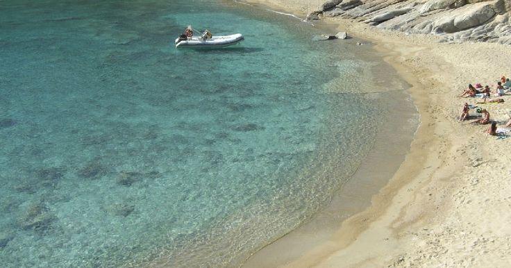 Chamouchades Beach #luxurios #luxuriosisland #iosgreece #iosbeaches