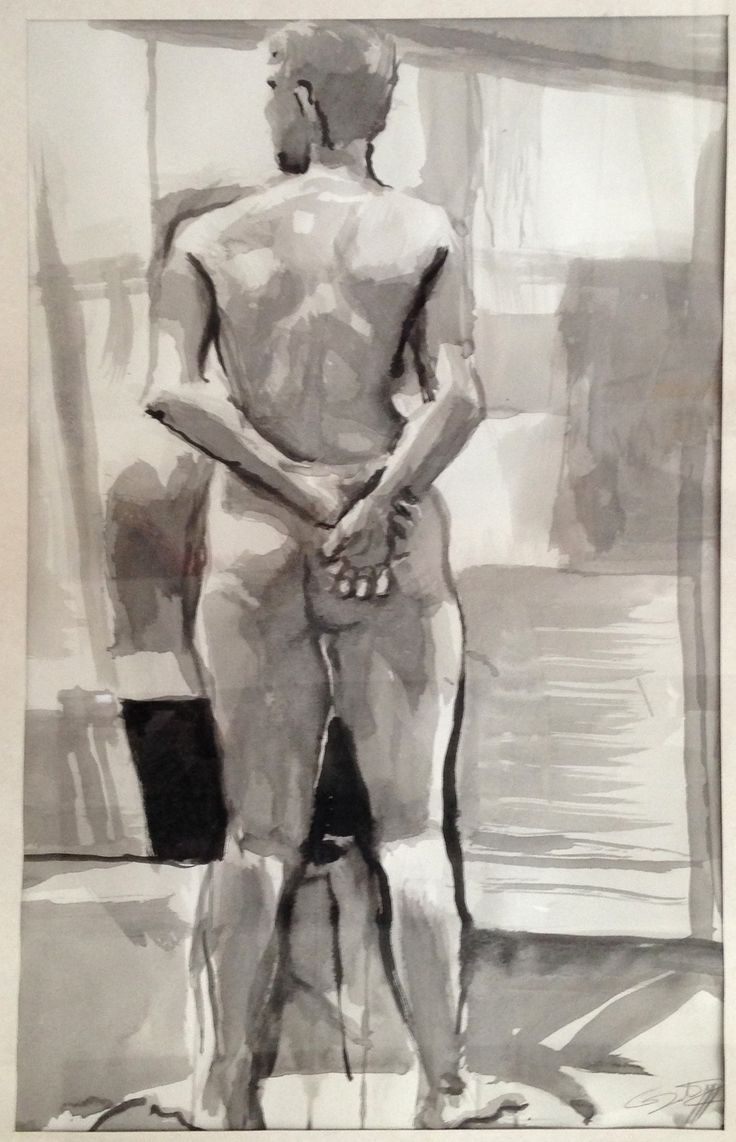 Life Drawing by Gary Drostle©