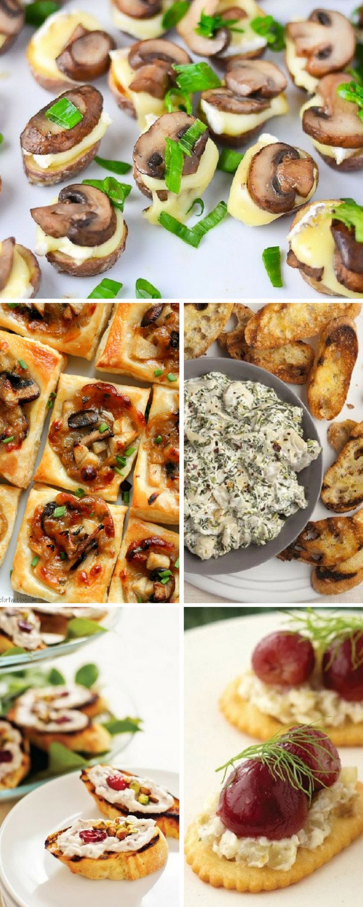 Here you have almost everything. Our appetizers are elegant and delicious. Pair these light appetizers with a fabulous cocktail to give your Thanksgiving celebration a scrumptious start! Enjoy!