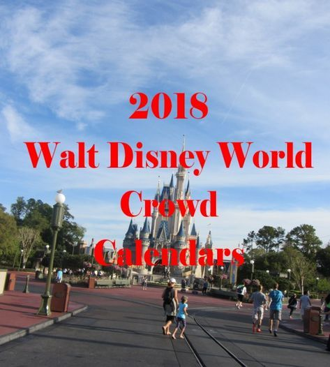Crowd calendar for 2018 Walt Disney World will help you determine the best time to visit in 2018 by looking at crowd trends, key events and holidays.