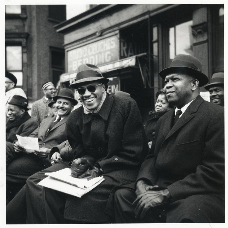 Malcolm X Happy in Harlem