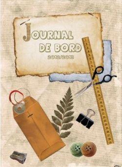 journal de bord couverture criture pinterest cahier journal journal et cahier. Black Bedroom Furniture Sets. Home Design Ideas