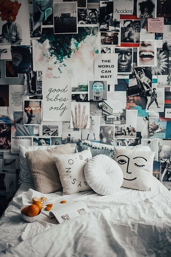 It's the winter season, so enjoy a great day in a dreamy bedroom, in some cozy sheets and reading a great book. To help you out making everything lovely and magical, we gathered nine suggestions for a gorgeous and cozy winter bedroom: 1. Boho vibe Even if its winter you can add a little exotic vibe in your dreamy bedroom