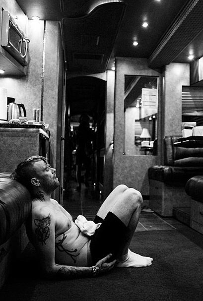 Bert McCracken ~ photo by Ryan Muirhead