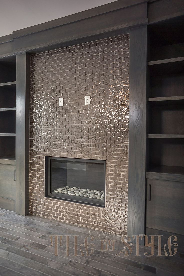 Glass Fireplace Tiles Glass Fireplace Tiles Photo Posted By Tile By