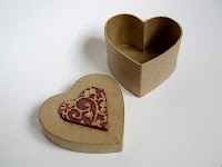Heart shaped box by Les Folles MarquisesDes Atelier, Wood Work, Crafts Ideas, Heart Shape, Heart Iii, Les Folles, Shape Boxes, Folles Marquise, Atelier D Initials