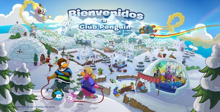 Bienvenido a la Club Penguin!