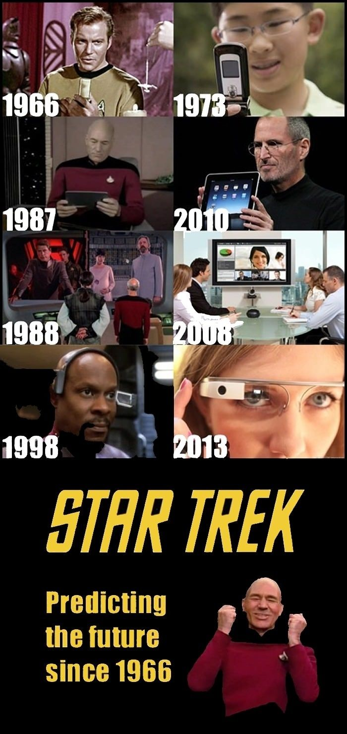 Prediction from Star Trek // funny pictures - funny photos - funny images - funny pics - funny quotes - #lol #humor #funnypictures