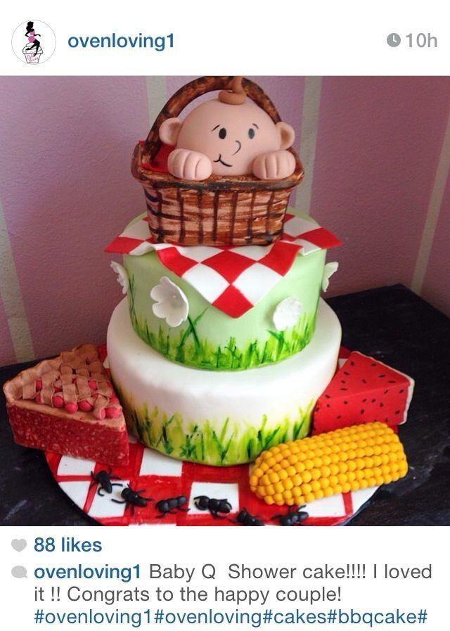 Picnic Themed Cake Ideas