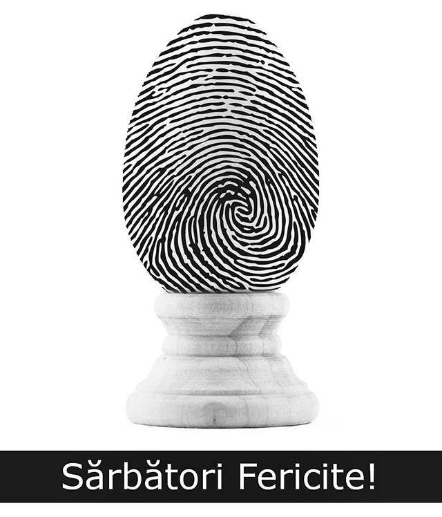 #HappyEaster to everyone celebrating this weekend! #Easter #EasterEgg #design #fingerprint #CST Illustration: Diana Topan