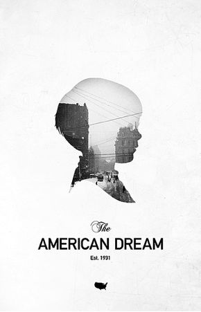 Cool Graphic Design on the Internet, The American Dream. #graphicdesign #poster @ http://www.pinterest.com/alfredchong/graphic-design/