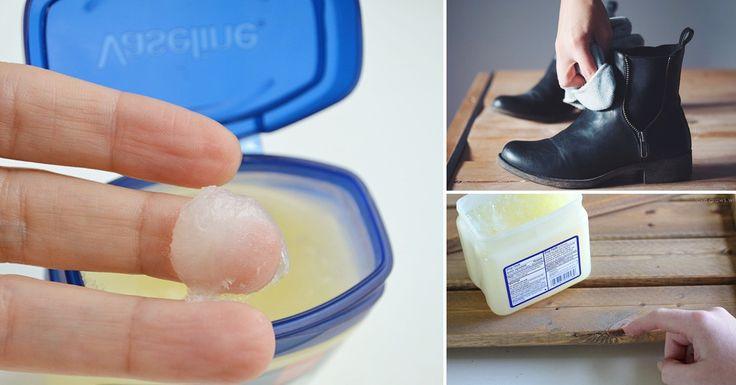 16 usos de la vaselina que te sorprenderán