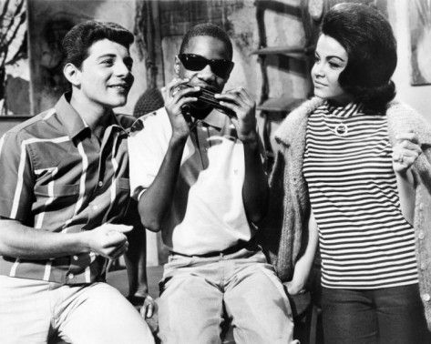 Frankie Avalon | Stevie Wonder | Annette Funicello  Muscle Beach Party, 1964