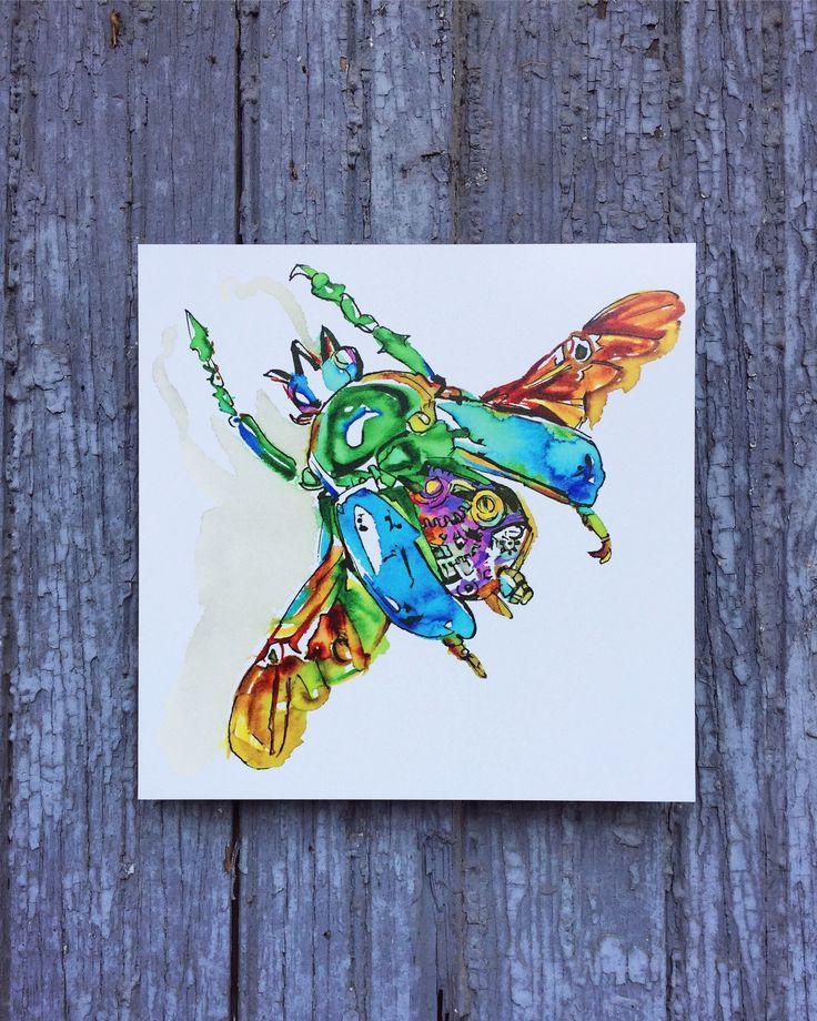 Paul Reynolds - Mini Bug Print
