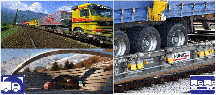 Intermodal Alpine, Rolling Highways, Intermodal Booking Services