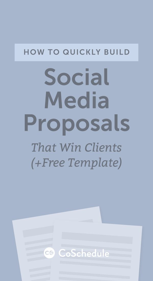 How to build an awesome social media proposal step-by-step http://coschedule.com/blog/social-media-proposal-template/?utm_campaign=coschedule&utm_source=pinterest&utm_medium=CoSchedule&utm_content=How%20To%20Quickly%20Build%20Social%20Media%20Proposals%20That%20Win%20Clients%20%28Free%20Template%29