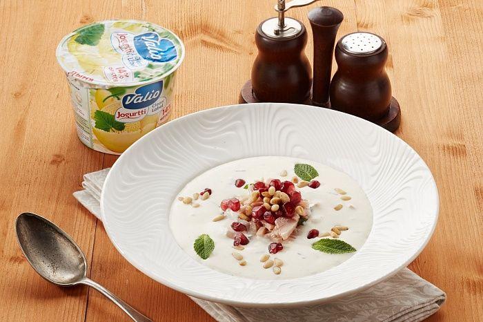 Холодный йогуртовый суп - пошаговый рецепт приготовления с фото