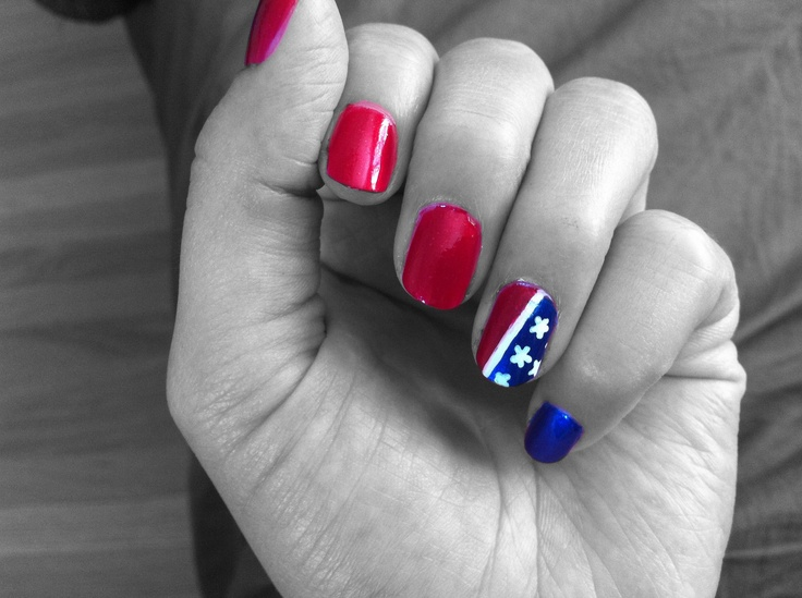 What's going to be your 4th of July mani? www.glossybox.com