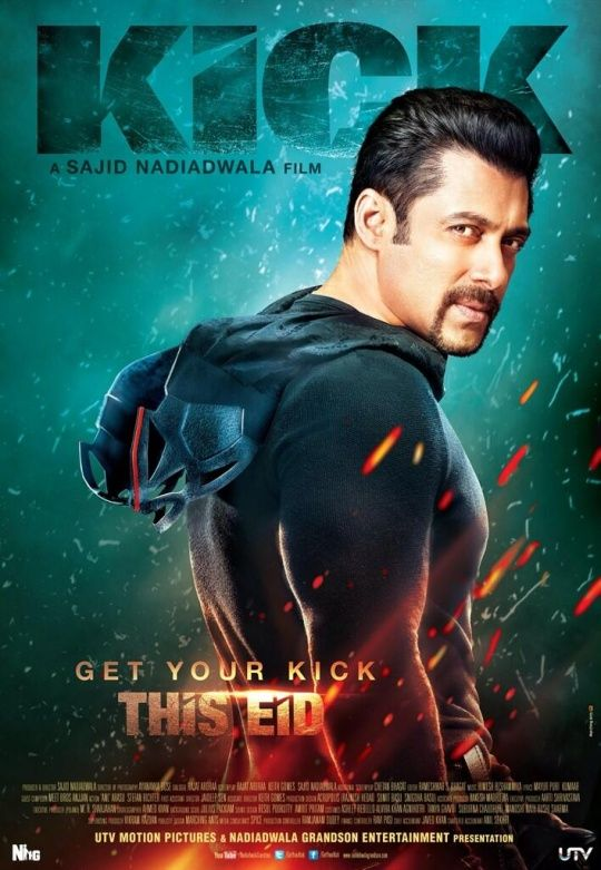 FIRST POSTER: Salman Khan's 'Kick' | #Bollywood #Movies