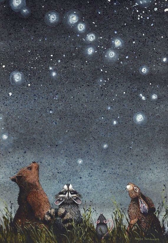 Snowwolfs Woodland Nook ~ When the stars are in the skies
