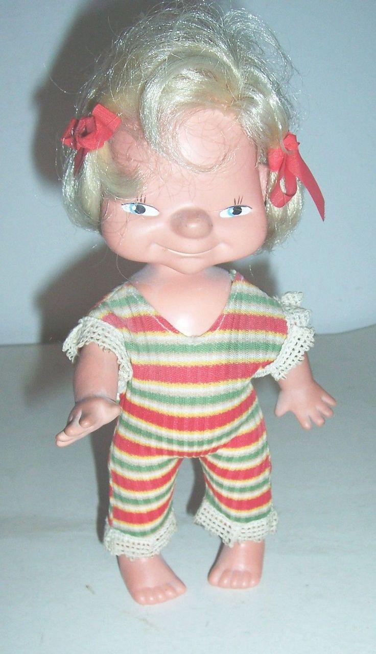 Кукла ГДР (нос-картошка, 1970). Поиск игрушек, детских книг и настольных игр СССР -  http://doska-obyavleniy-detstva.blogspot.ru/