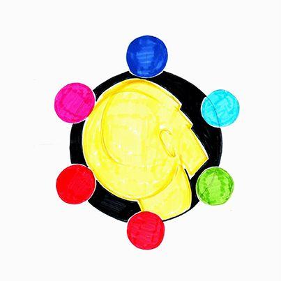 Equilibrando los puntos energéticos en nuestra esfera superior, asimilando conocimiento antes de partir. #mandala #meditacion #busqueda