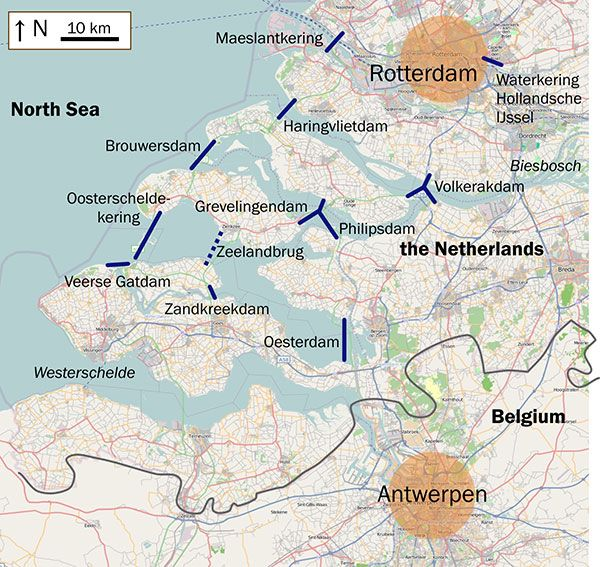 Image result for delta project netherlands