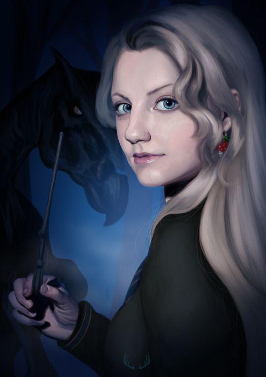 Luna Lovegood by Marta G.Villena.